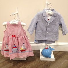 Today's #Outfitoftheday is for the little ones in your life! Love these adorable nautical inspired outfits by @elegantbabyofficial! ⚓️⛵️