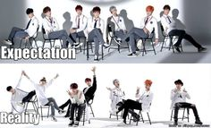 BTS is better in reality. LOL