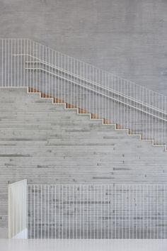 I like how it meets with the concrete ... something to keep in mind...  Saunalahti comprehensive school - VERSTAS Architects