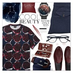 """Men's Fashion"" by salihovic-nihad ❤ liked on Polyvore featuring Universal Works, Galet, Surya, Lands' End, men's fashion and menswear"