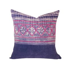 Handwoven Hmong Textile Pillow 18 - House of Cindy - House of Cindy