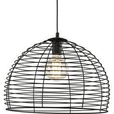 Oto kolejny model który przydzelony został do kategorii lamp z klatką - metalowa lampa Wires. Dostępna w kolorze czarnym oraz białym. http://blowupdesign.pl/pl/35-lampy-klatki-metalowe-loft-design# #lampyklatki #lampywiszące #lampymetalowe #cagelamps #pendantlamps