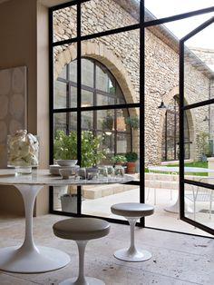 Sleek Steel-Framed Windows | House & Home