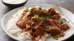 Slow Cooker Butter Chicken - You don't need a bigger spice cabinet to make this amazing Indian chicken.