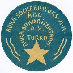 Aura Sokuritehtaan O.Y. #Turku #etiketit #label