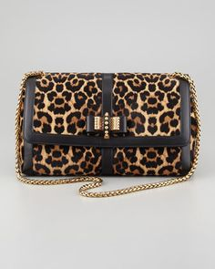 Large Sweet Charity Bag by Christian Louboutin at Neiman Marcus.