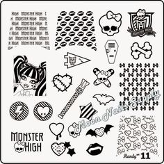 My Favorite Nail Art Stamping Plates for Halloween!