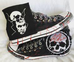 fc16f434cd2 Motörhead shoes. Lemmy