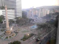 Bombas Lacrimogenas en Altamira 22F
