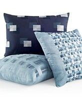 Hotel Collection Colonnade Blue Decorative Pillow Collection