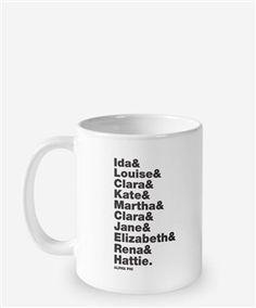 Alpha Phi Founders Mug by The Social Life