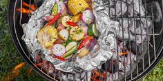 Camping Food Ideas Foil Pack Camping Food Packing, Camping Foil Meals, Foil Pack Dinners, Camping Cooking, Whole Food Recipes, Dinner Recipes, Healthy Recipes, Easy Recipes, Healthy Food
