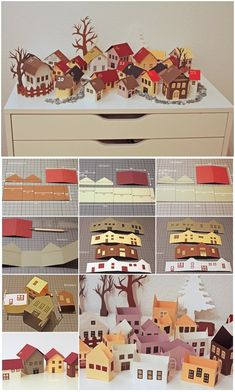 Pinterest Facebook Google+ reddit StumbleUpon Tumblr Pinterest Facebook Google+ reddit StumbleUpon Tumblr This is a amazing way to countdown to Christmas! It will be a wonderful gift. Click below link for translated version tutorial. DIY My Winter City Paper Advent Calendar