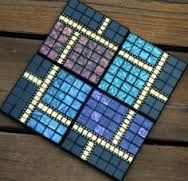 Image result for mosaic coaster