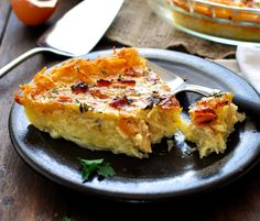 Hash Brown Crust Quiche Lorraine | 17 Hash Brown Recipes, 'Cause They're The…