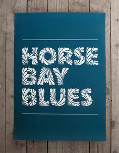 Hand drawn typography. Simon Alander