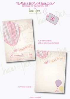 Hot air balloons... could be cute theme