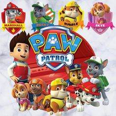 Fabric Transfers Paw Patrol Iron On Transfer For Light Colored Fabric & Garden Paw Patrol Cake, Paw Patrol Party, Paw Patrol Birthday, Happy Birthday Ecard, Happy Birthday Baby, Birthday Cards, Paw Patrol Wall Decals, Imprimibles Paw Patrol, Cumple Paw Patrol