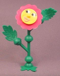 Kinder Surprise 1998 Sunflower with Dark Pink Petals