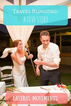 How I met my Aussie husband through a European blogging internship. #love #wedding
