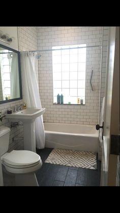 Small Bathroom, Alcove, Bathtub, Home, Small Shower Room, Standing Bath, Bathtubs, Bath Tube, Ad Home