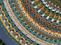Mandala crochet particolare
