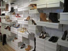 Maison Martin Margiela. Like the display using shoe box.