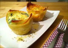 Lasagne Cups | siktwinfood Leckere Vorspeise, die auch optisch was hermacht