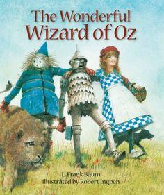 Trollkarlen från Oz av L Frank Baum, Maria Seidemann (Bok) Hans Christian, Kansas, Wizard Of Oz Book, Illustrator, Sterling Publishing, Land Of Oz, Children's Picture Books, Wicked Witch, The Wiz