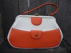 60's colorblock vintage purse