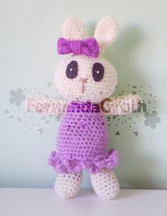 bunnie crochet/ Happy Easter  coelho de crochê, amigurumi