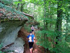 Trail Running at the #caves of #Streitberg. #Franken #Bavaria #Germany. More: http://trampelpfad.net/