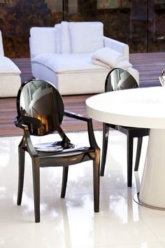 PANGEA/home  Bentley Chair - Black - Set of 2  $299.00
