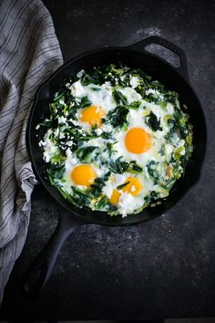 Sautéed Dandelion Greens with Eggs. This five ingredient breakfast or dinner utilizes one of the healthiest vegetables: fresh dandelion greens!