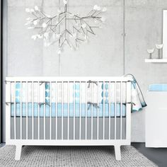Olli & Lime Forrest Crib Set #nursery #baby