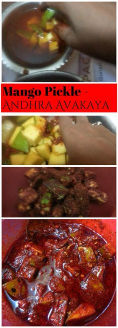 Avakai Pickle Recipe , How to make Andhra Avakaya - Krishrecipes Avakai Pickle Recipe which means Pickle with Mustard as the main ingredient. Avakai Pickle is the most important pickle of Andhra Pradesh. Indian Food Recipes, Vegetarian Recipes, Cooking Recipes, How To Make Homemade, Homemade Food, Corn Cakes, Homemade Pickles, Garlic Chicken, International Recipes