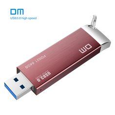 DM PD021  16GB 32GB 64GB 128GB 256GB USB Flash Drives Metal USB 3.0 High-speed write from 10mb/s-60mb/s //Price: $9.91//     #storecharger