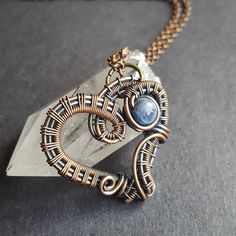 Remember, the most important love is self-love. Give yourself an extra amount of care today. 💖 As a single person… Wire Pendant, Wire Wrapped Pendant, Wire Wrapped Jewelry, Pendant Jewelry, Copper Jewelry, Wire Jewelry, Jewlery, Wire Wrapping, Wrapping Ideas