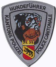 BERN (SWITZERLAND) Police patch - Polizei Abzeichen (K-9 ROTTWEILER)