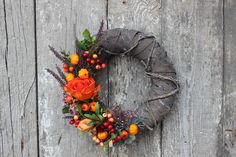 Autumn wreath - made by tenDOM from Poland