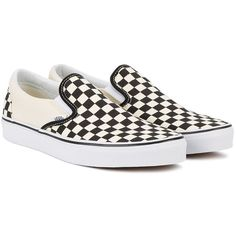 Vans checkerboard slip-on sneakers (315 RON) ❤ liked on Polyvore featuring men's fashion, men's shoes, men's sneakers, shoes, mens black and white shoes, mens slip on sneakers, mens slip on shoes, vans mens shoes and mens slipon shoes