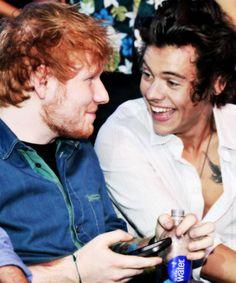ed sheeran and hARRY FAVS