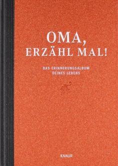 """Verschenken Sie das Buch """"Oma, erzähl mal: Omas Lebensgeschichte"""" und lassen Sie ihre Oma ein wertvolles Vermächtnis für die ganze Familie erstellen."""