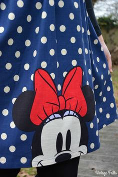 Cath Kidston Minnie Mouse Dress OOTD