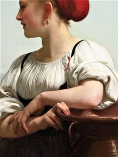 William Adolphe Bouguereau, 1868 William Adolphe Bouguereau, Classic Paintings, Beautiful Paintings, John William Waterhouse, Traditional Paintings, Contemporary Paintings, Classical Art, Art Studies, Fine Art