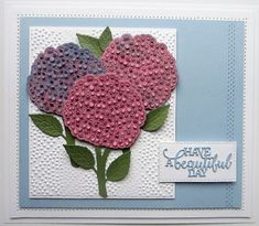 PartiCraft (Participate In Craft): Beautiful Hydrangea die