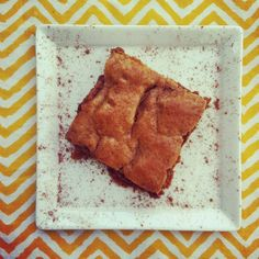 Snickerdoodle Blondies (Paleo, SCD) - made these for the superbowl 2014 and R and i both loved them. AJK