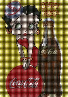 Coca Cola Betty Boop Crochet Pattern