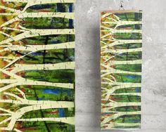 Birches by Marjorie Schalles