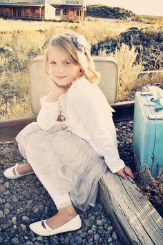 little girl photo session